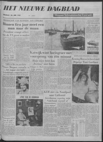 Nieuwe Schiedamsche Courant 1961-05-26