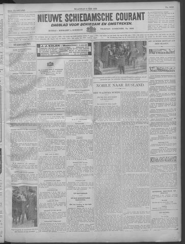 Nieuwe Schiedamsche Courant 1932-05-09