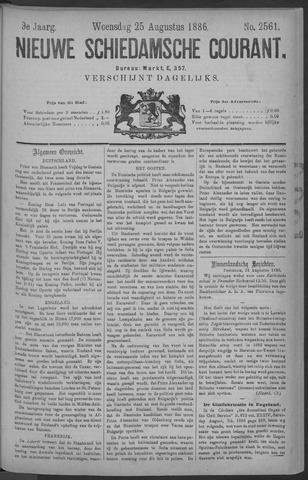 Nieuwe Schiedamsche Courant 1886-08-25