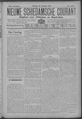 Nieuwe Schiedamsche Courant 1918-02-26
