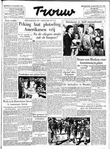 Trouw / De Rotterdammer 1955-08-02