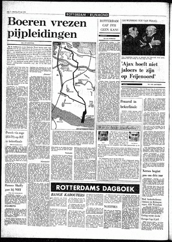 Rotterdamsch Parool / De Schiedammer 1970-05-16
