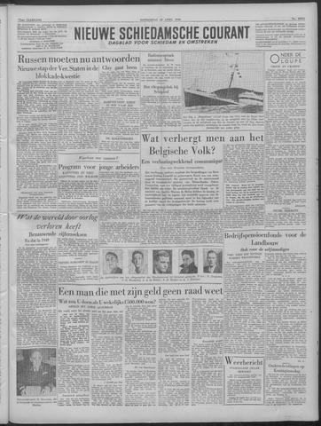 Nieuwe Schiedamsche Courant 1949-04-28