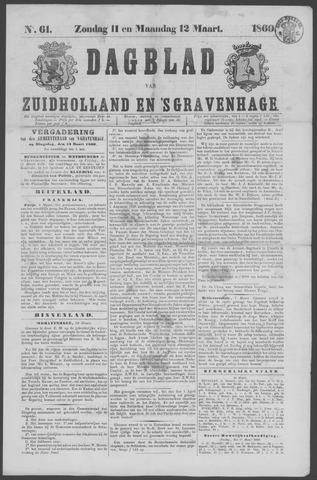 Dagblad van Zuid-Holland 1860-03-11