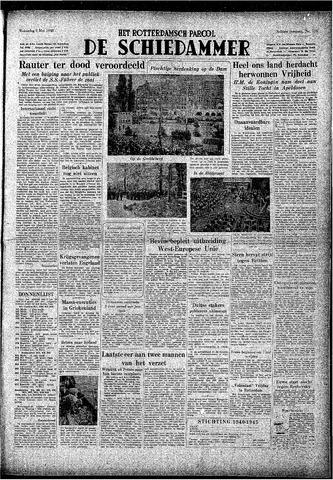 Rotterdamsch Parool / De Schiedammer 1948-05-05