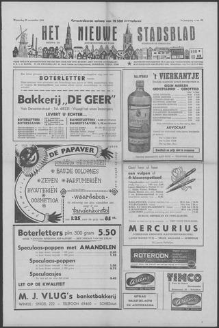 Het Nieuwe Stadsblad 1956-11-28