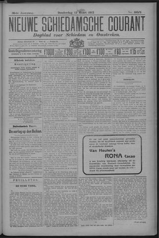 Nieuwe Schiedamsche Courant 1913-03-13
