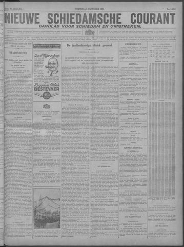 Nieuwe Schiedamsche Courant 1929-10-02