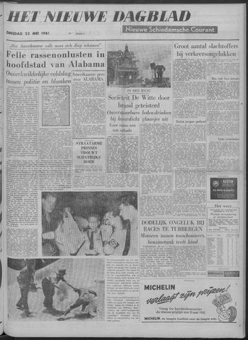 Nieuwe Schiedamsche Courant 1961-05-23