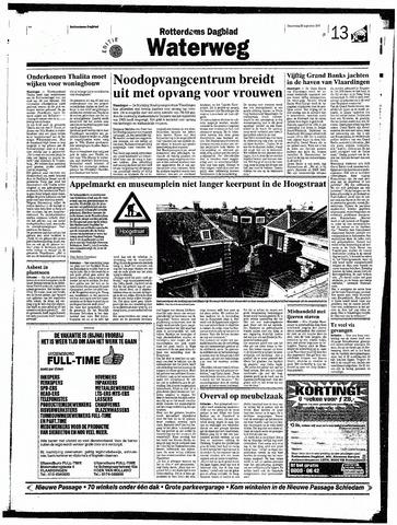 Rotterdamsch Nieuwsblad / Schiedamsche Courant / Rotterdams Dagblad / Waterweg / Algemeen Dagblad 1998-08-20