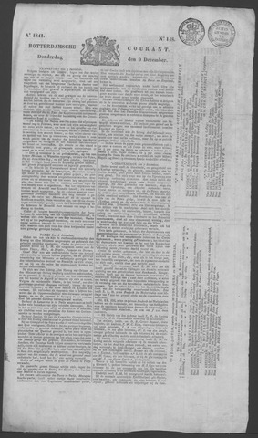 Rotterdamse Courant 1841-12-09