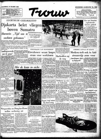 Trouw / De Rotterdammer 1958-03-10
