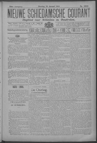 Nieuwe Schiedamsche Courant 1918-01-29