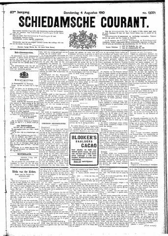 Schiedamsche Courant 1910-08-04