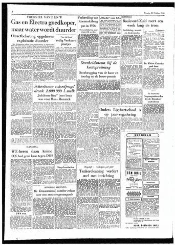 Rotterdamsch Parool / De Schiedammer 1955-10-25