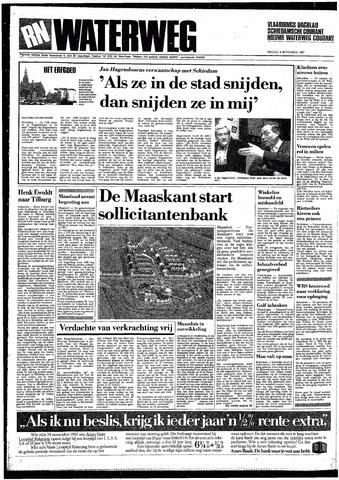 Rotterdamsch Nieuwsblad / Schiedamsche Courant / Rotterdams Dagblad / Waterweg / Algemeen Dagblad 1987-11-06