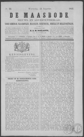 De Maasbode 1853-08-24