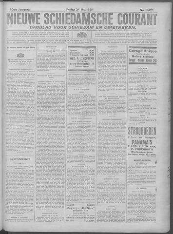 Nieuwe Schiedamsche Courant 1929-05-24