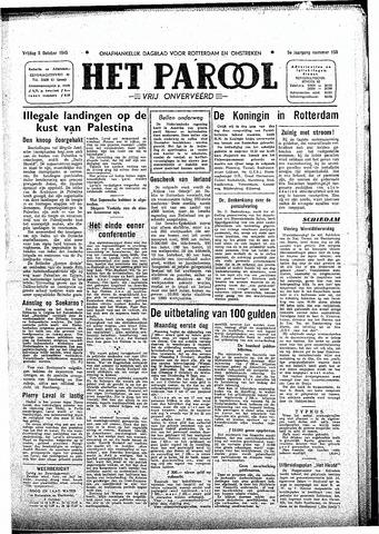 Rotterdamsch Parool / De Schiedammer 1945-10-05