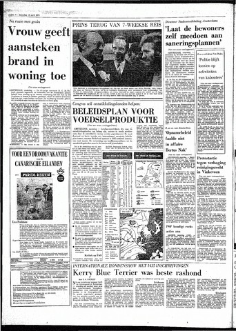 Rotterdamsch Parool / De Schiedammer 1970-04-13