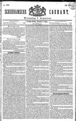 Schiedamsche Courant 1866-08-01
