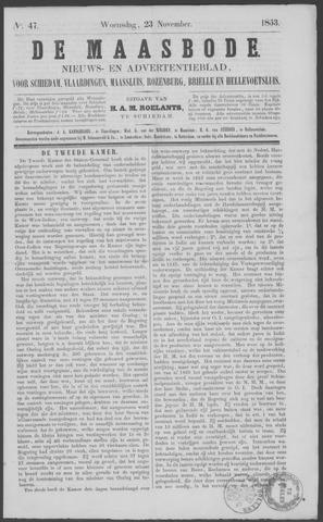 De Maasbode 1853-11-23
