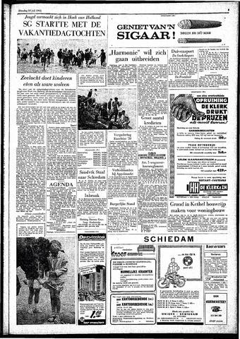 Rotterdamsch Parool / De Schiedammer 1961-07-18