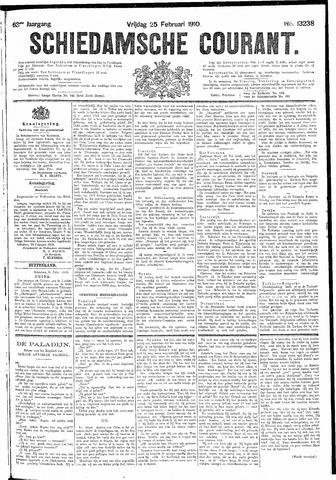 Schiedamsche Courant 1910-02-25