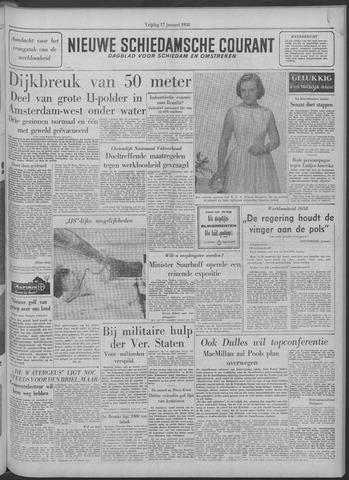 Nieuwe Schiedamsche Courant 1958-01-17
