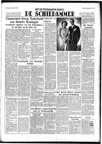 Rotterdamsch Parool / De Schiedammer 1948-09-04