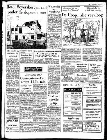 Rotterdamsch Parool / De Schiedammer 1964-08-26