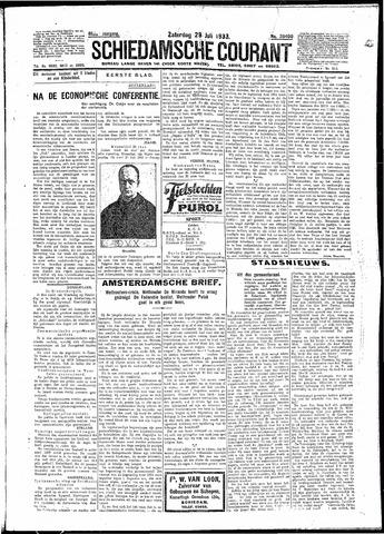 Schiedamsche Courant 1933-07-29