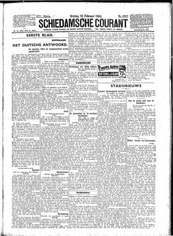 Schiedamsche Courant 1935-02-15