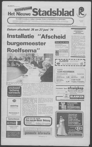 Het Nieuwe Stadsblad 1974-03-13