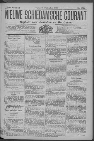 Nieuwe Schiedamsche Courant 1909-09-24