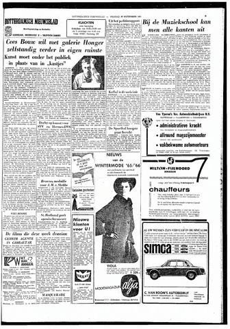 Rotterdamsch Nieuwsblad / Schiedamsche Courant / Rotterdams Dagblad / Waterweg / Algemeen Dagblad 1965-09-17