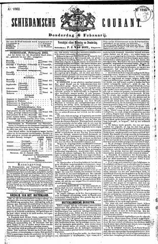 Schiedamsche Courant 1862-02-06