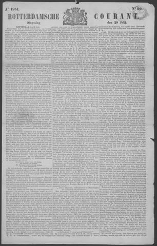 Rotterdamse Courant 1851-07-29