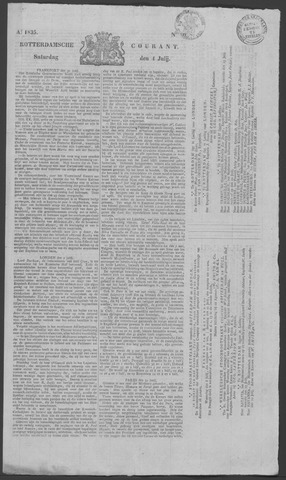 Rotterdamse Courant 1835-07-04