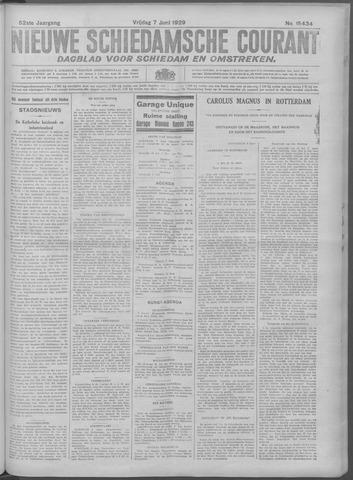 Nieuwe Schiedamsche Courant 1929-06-07