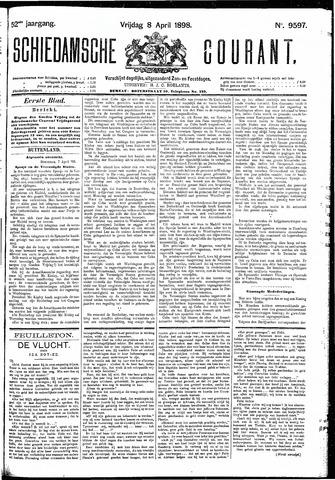 Schiedamsche Courant 1898-04-08