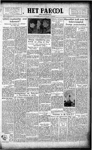 Rotterdamsch Parool / De Schiedammer 1946-02-01