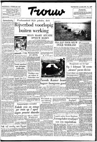 Trouw / De Rotterdammer 1957-02-06
