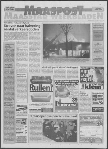Maaspost / Maasstad / Maasstad Pers 1998-12-02