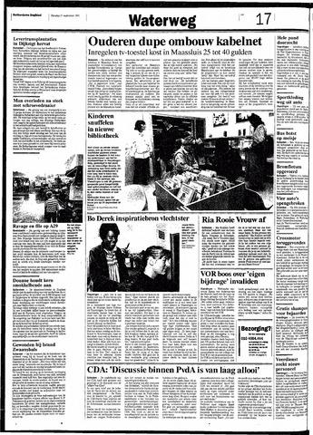 Rotterdamsch Nieuwsblad / Schiedamsche Courant / Rotterdams Dagblad / Waterweg / Algemeen Dagblad 1991-09-17