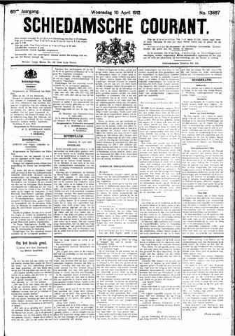 Schiedamsche Courant 1912-04-10