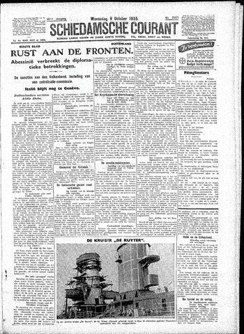 Schiedamsche Courant 1935-10-09