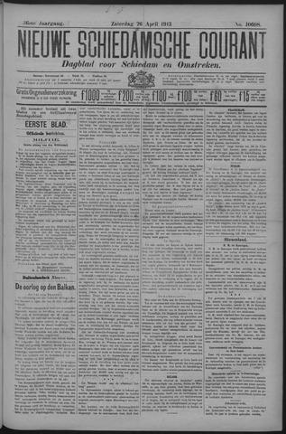 Nieuwe Schiedamsche Courant 1913-04-26