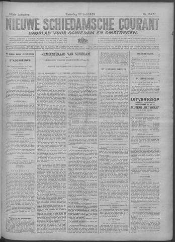Nieuwe Schiedamsche Courant 1929-07-27