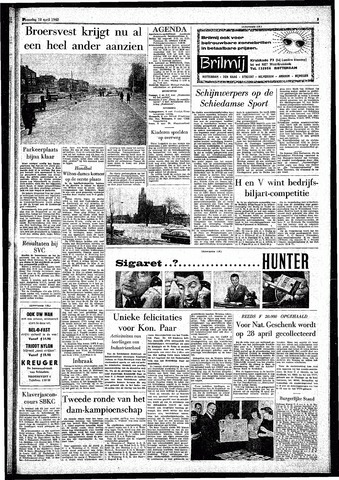 Rotterdamsch Parool / De Schiedammer 1962-04-18